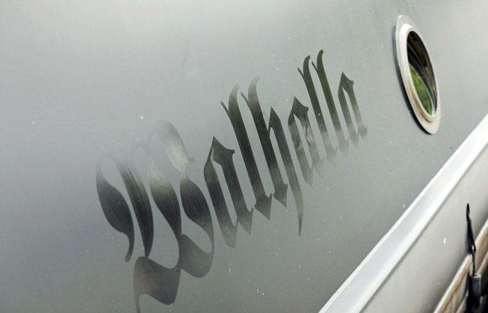 Лодка Walhalla.