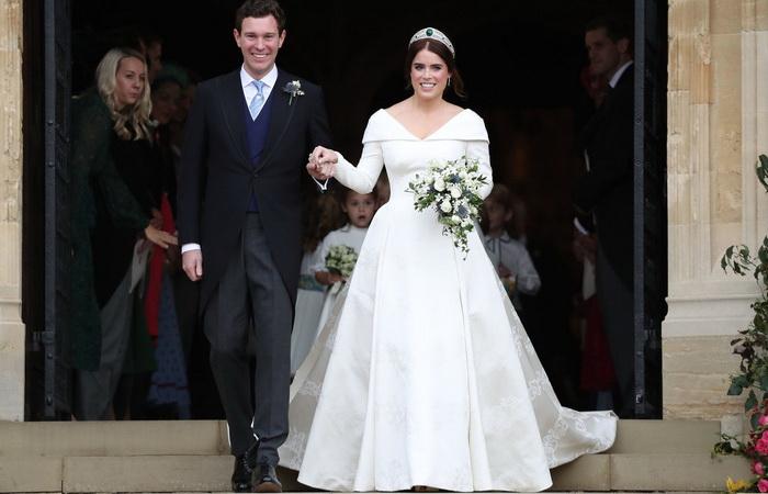 Свадьба принцессы Евгении и Джека Бруксбэнка.