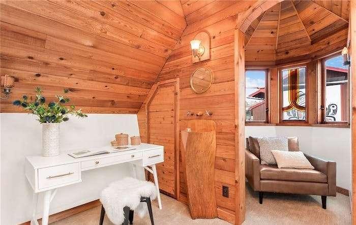 Уютный деревянный дом.