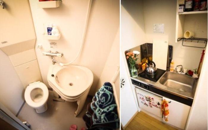 Квартира в Токио площадью всего 8 кв.м
