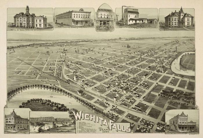 Застройка города Уичти-Фолз.