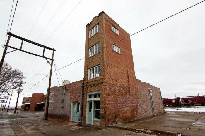 Современный вид здания.
