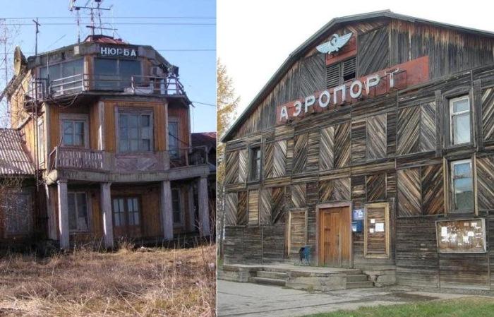 Деревянные аэропорты России.