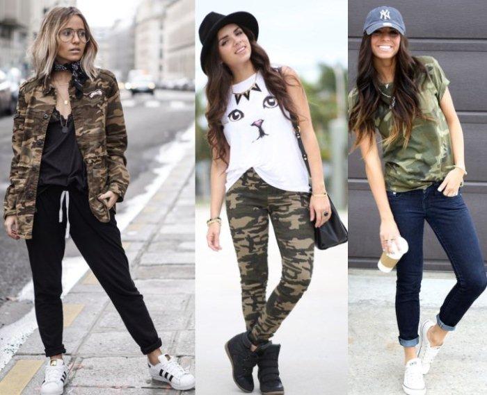 В повседневной одежде всегда нужно придерживаться одного стиля.