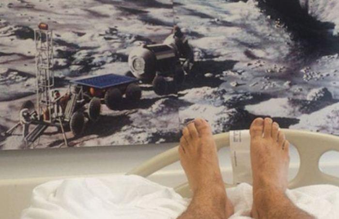 Постельный эксперимент: добровольцы проводят дни напролет в кровати.