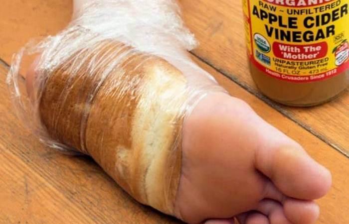 Если привязать хлеб к ноге и оставить на целую ночь, результат будет неожиданным.
