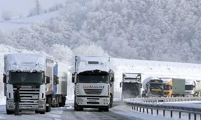 Особая технология, которая используется дальнобойщиками в холодных регионах.