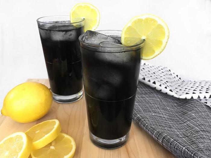 Черный коктейль.