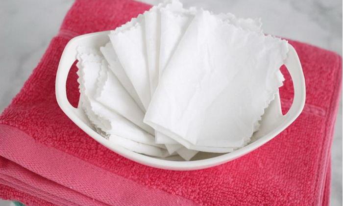 Чудо-салфетки, которые не дадут белью полинять во время стирки.