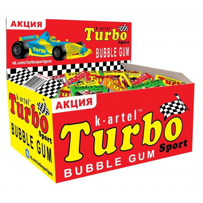 Жевательные резинки Turbo - воспоминание из 90-х.