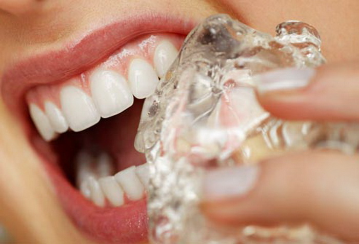 Кубик льда всегда крепче зуба.