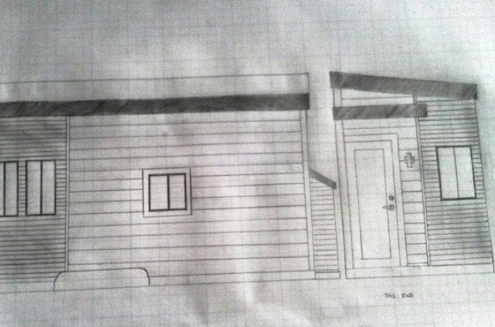 Джоэл Вербер сам придумал, как будет выглядеть его дом.