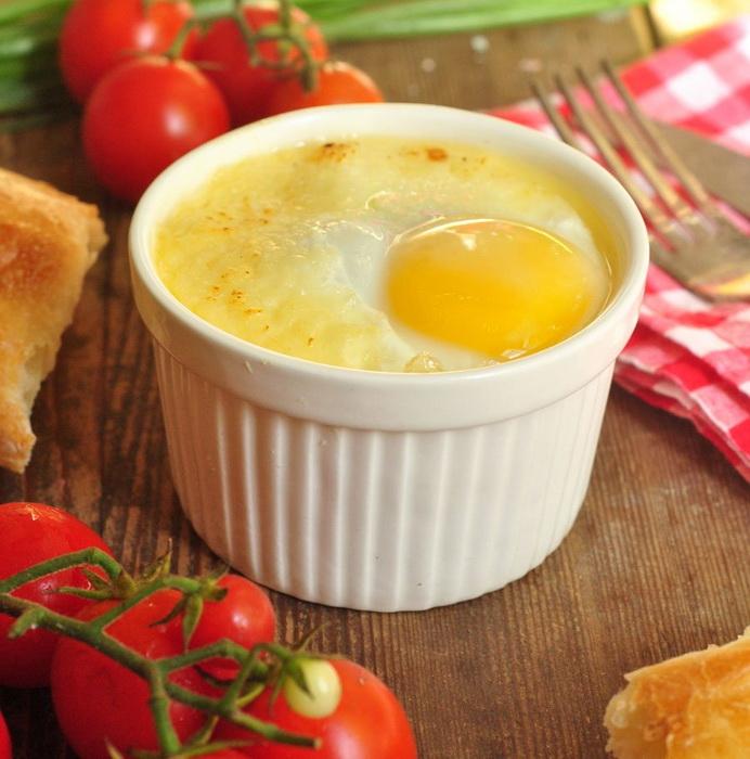 Яйца-кокот - излюбленное блюдо французов.