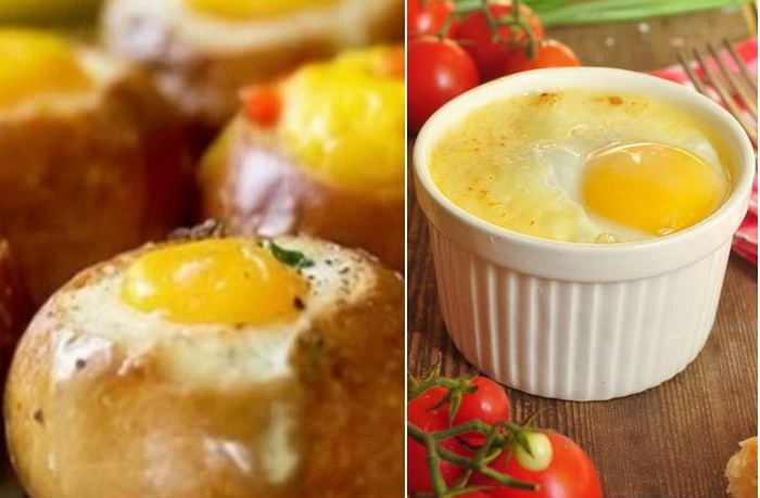 Яйца на завтрак: Вкуснейшие рецепты на скорую руку.