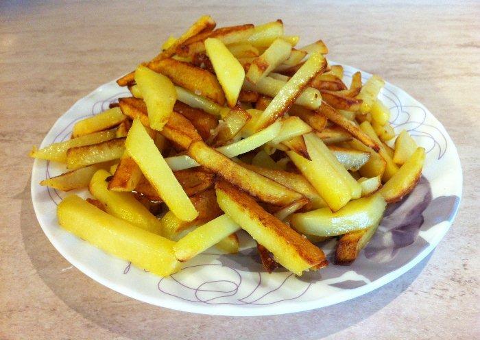 В картофеле слишком много крахмала.