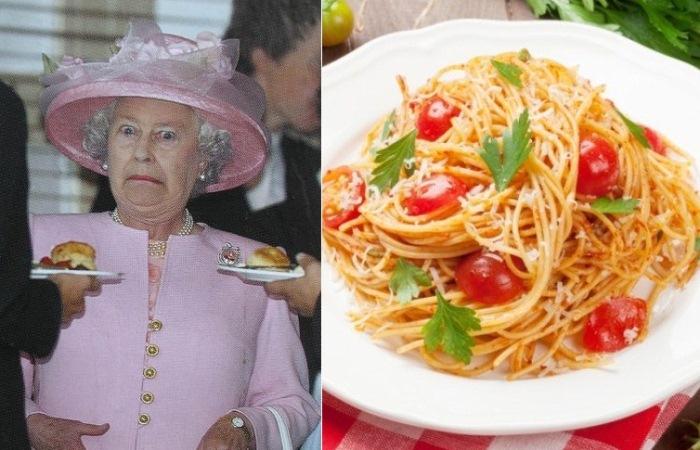 Каких продуктов нет в меню Елизаветы II.