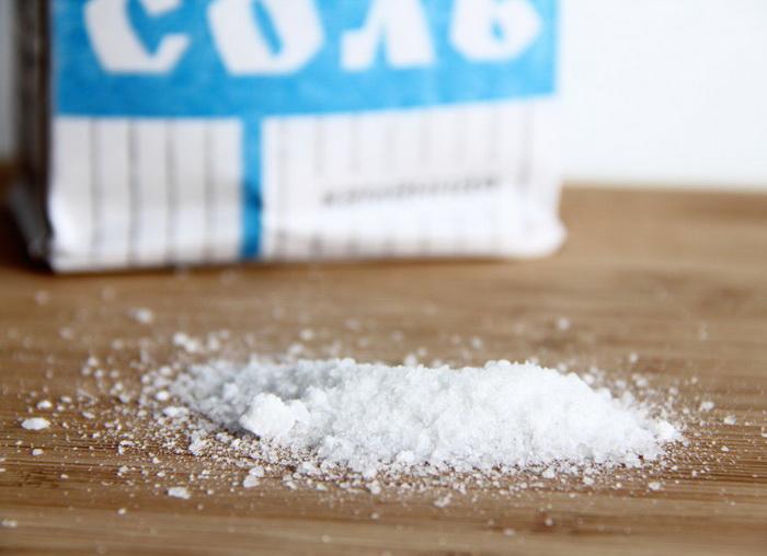 Обычная соль может храниться десятилетиями.