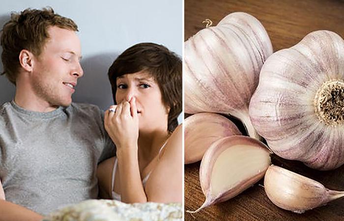 Как избавиться от запаха чеснока изо рта.