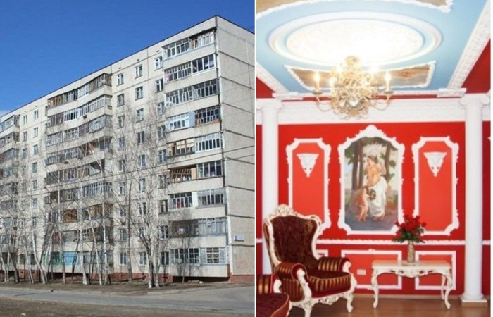 Гламурный ремонт в обычных квартирах