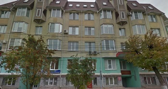 Обычная пятиэтажка в Рязани.