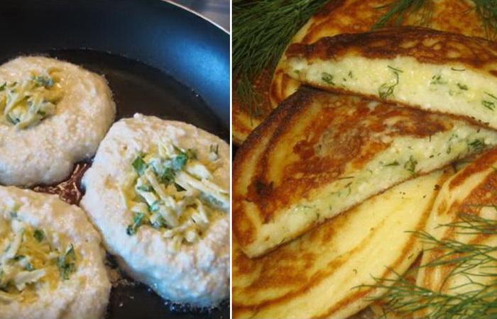 Ленивые хачапури на сковороде: пошаговый рецепт приготовления.