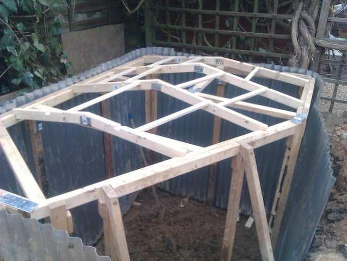 Конструкция для крыши.