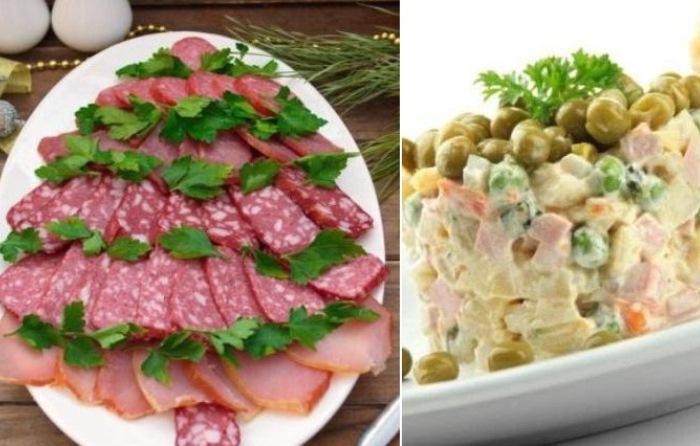 Что делать с продуктами с праздничного стола: Правила хранения и сроки годности