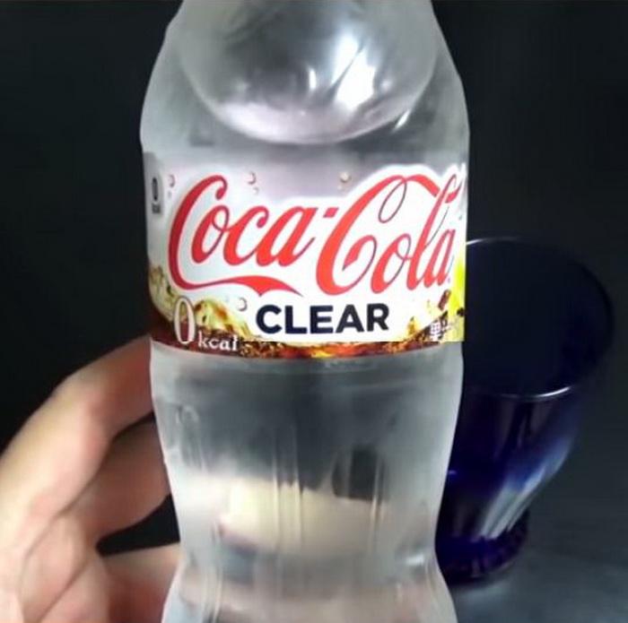 Прозрачная Coca-Cola.