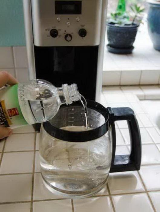 Как почистить кофеварку.
