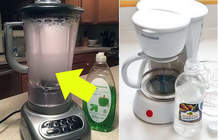 Как почистить бытовую технику на кухне.