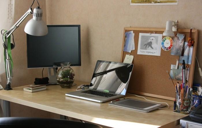 Идеальный порядок на рабочем месте - залог продуктивности.