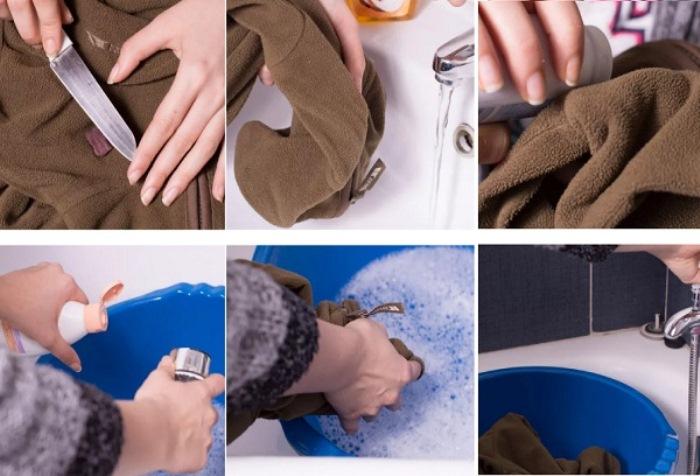 Как вывести пятно от шоколада на одежде: пошаговая инструкция.
