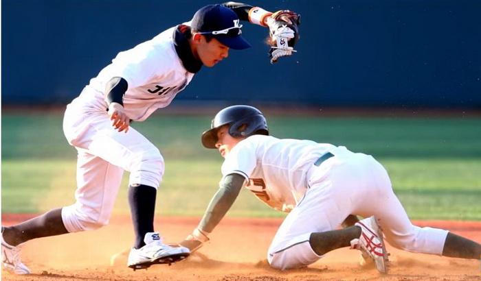 Бейсбол популярен в Южной Корее.