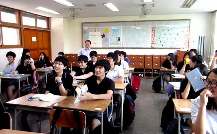 Школа в Южной Корее.