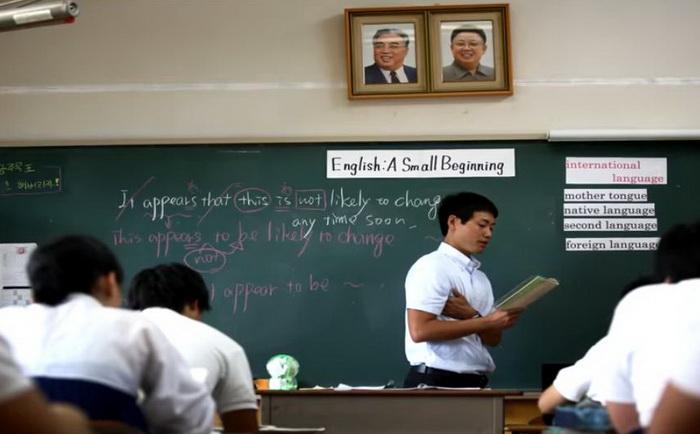 В школах Южной Кореи высокий уровень образования.