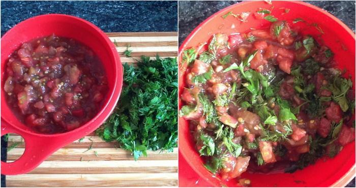 Добавление помидора делает котлеты более сочными и вкусными.