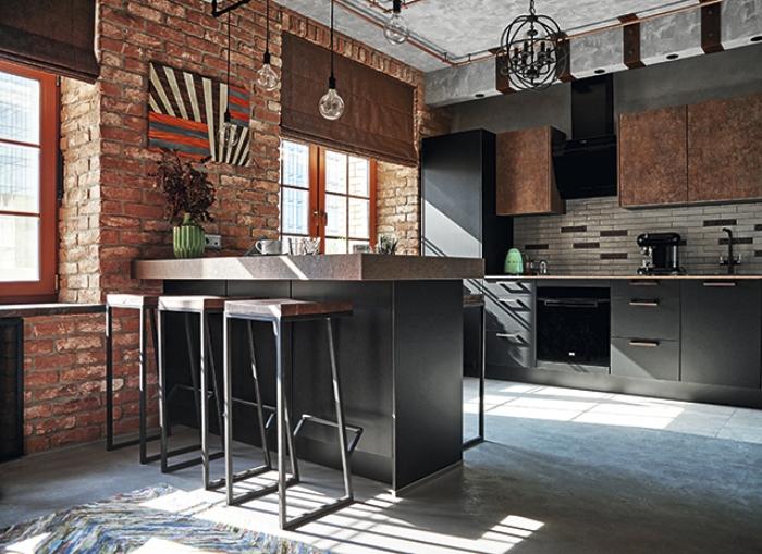 Кухня и гостиная.