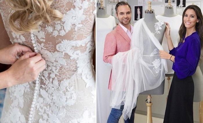 Свадебные наряды от итальянского агентства Pronovias.