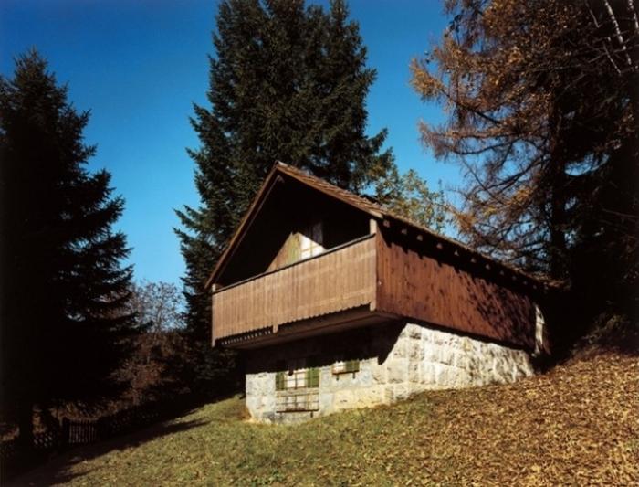 Необычные дома в Швейцарии.