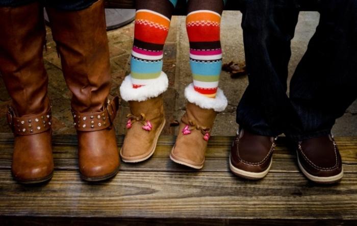 Способ, который подойдет для детской и взрослой зимней обуви.