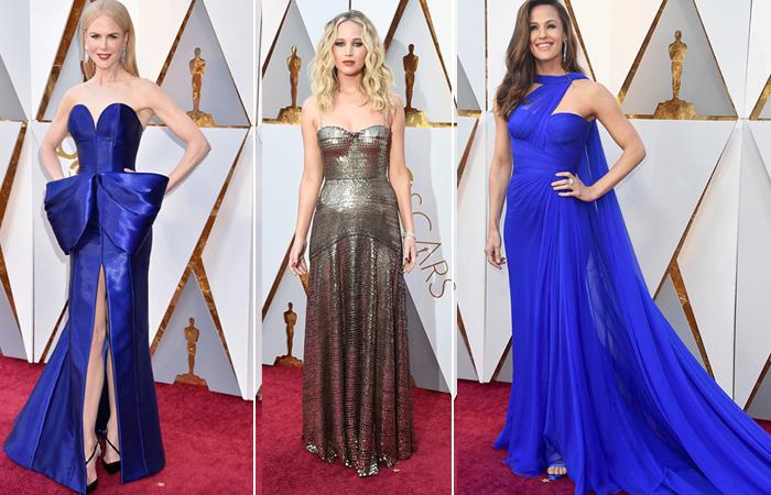 Лучшие наряды с церемонии Оскар-2018.