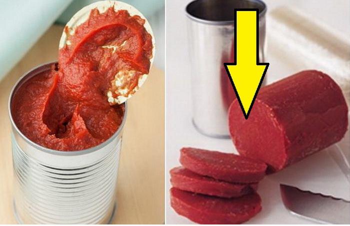Как сохранить томатную пасту долго свежей.