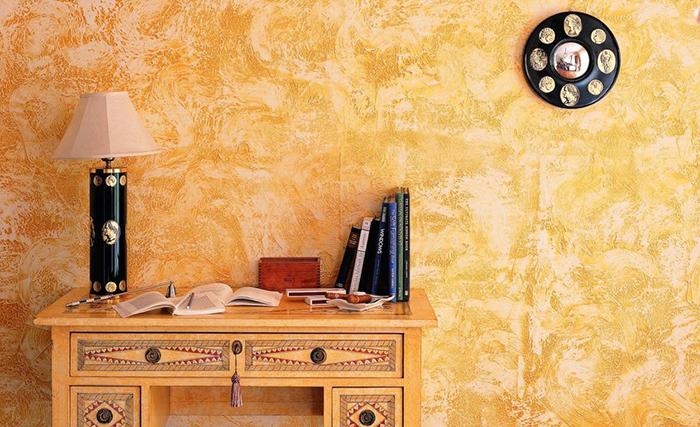Как покрасить стены фактурно без дизайнера.