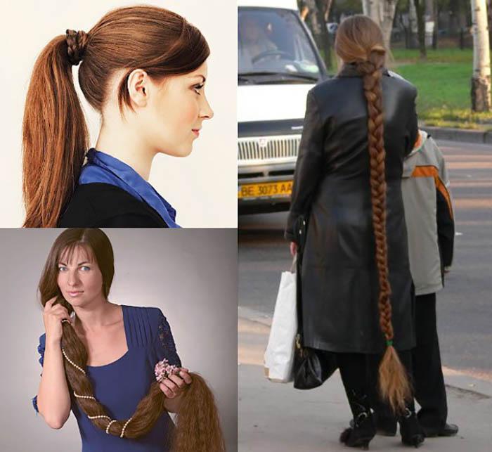 Хвосты и косы - прически для молодежи.