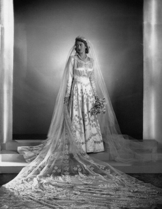Свадебный наряд принцессы Елизаветы.