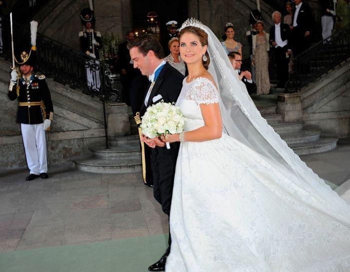 Свадьба принцессы Мадлен и бизнесмена Кристофера О'Нилла.