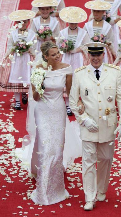 Свадьба княгини Шарлен и князя Альбера II.