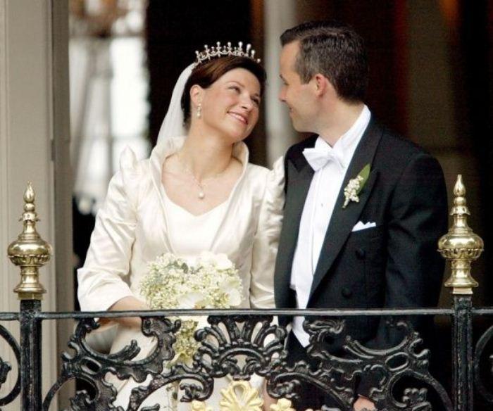Норвежская принцесса Марта Луиза и Ари Бен.
