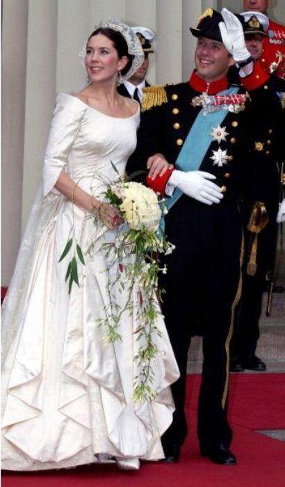 Свадьба Мэри Элизабет Дональдсон и принца Дании Фредерика.