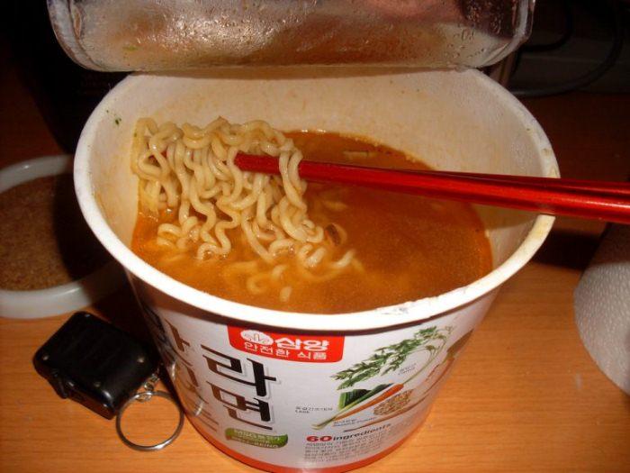 Вермишель быстрого приготовления из Японии.